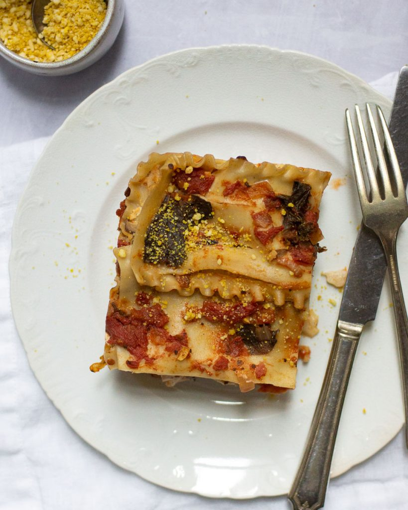 How to make vegan lasagna from scratch